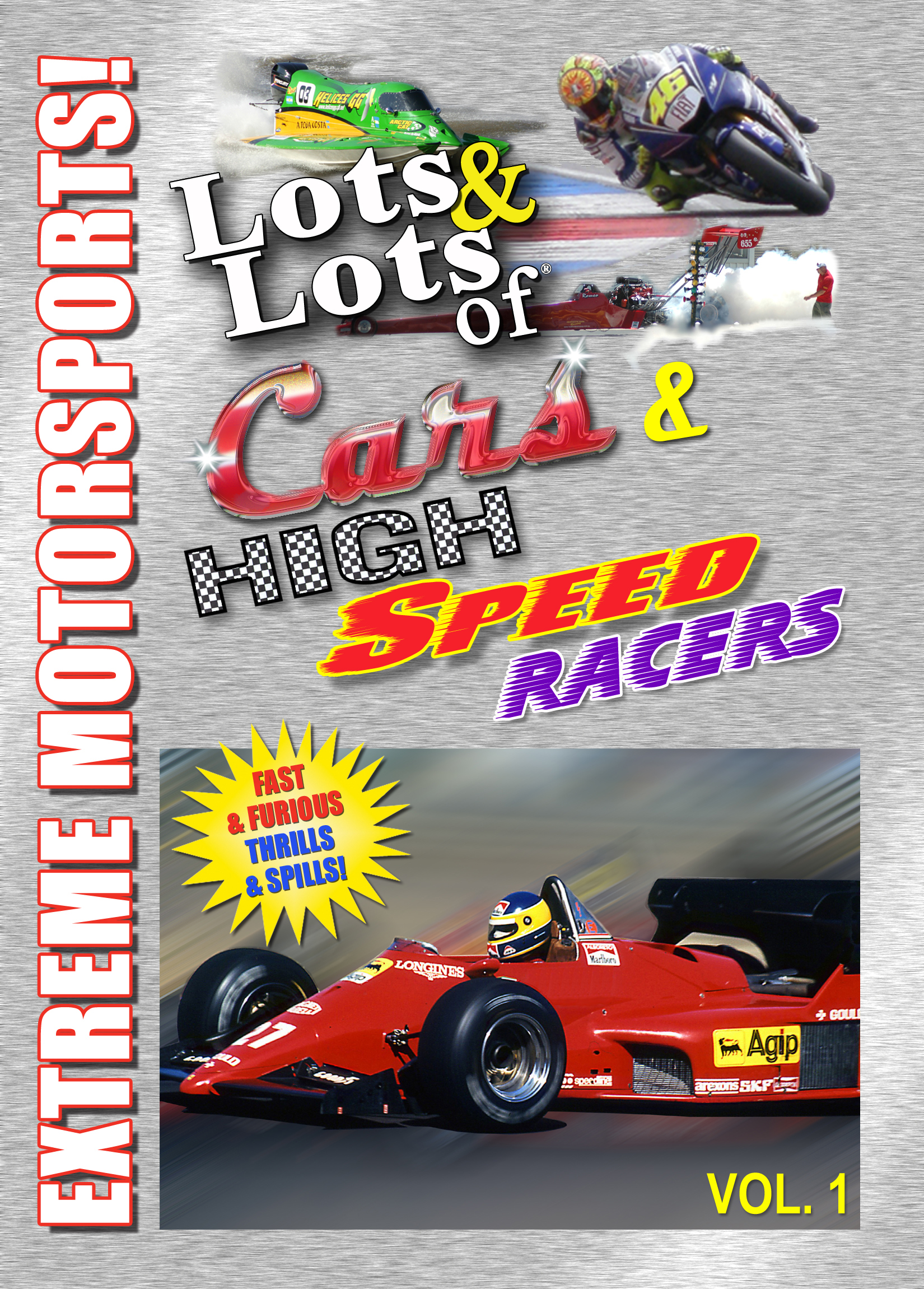 All About Cars >> All About Lots Lots Of Fast Cars Monster Trucks And High Speed Racers Vol 1 Dvd By Motorsports Drivers